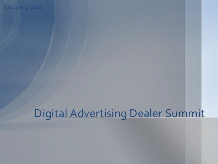 Automotive digital advertising for car dealers v4