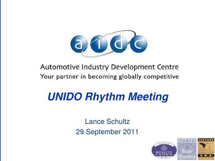 Automotive localisation  aidc