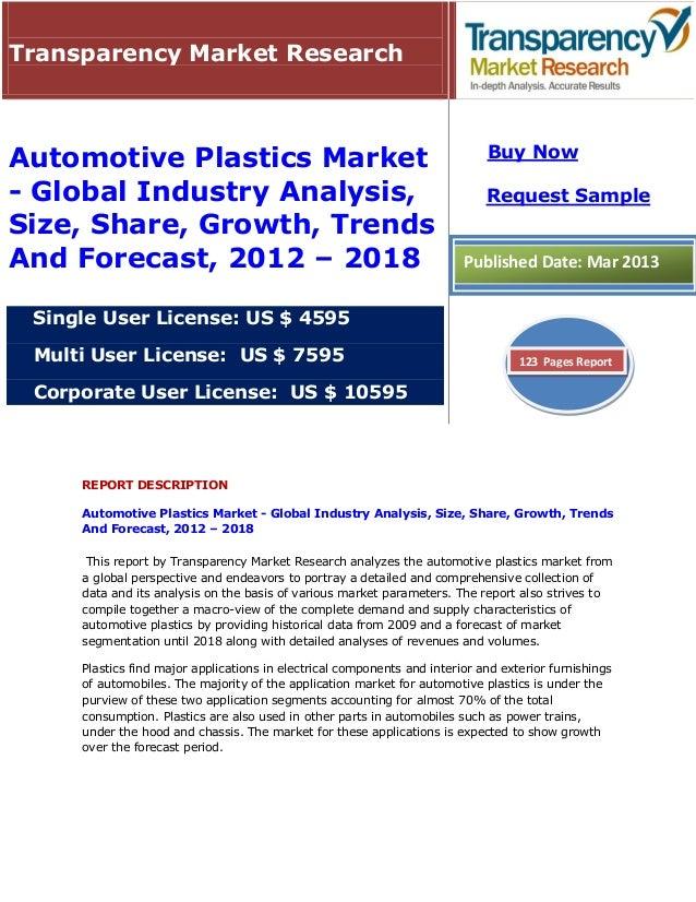 Transparency Market Research                                                                             Buy NowAutomotive...