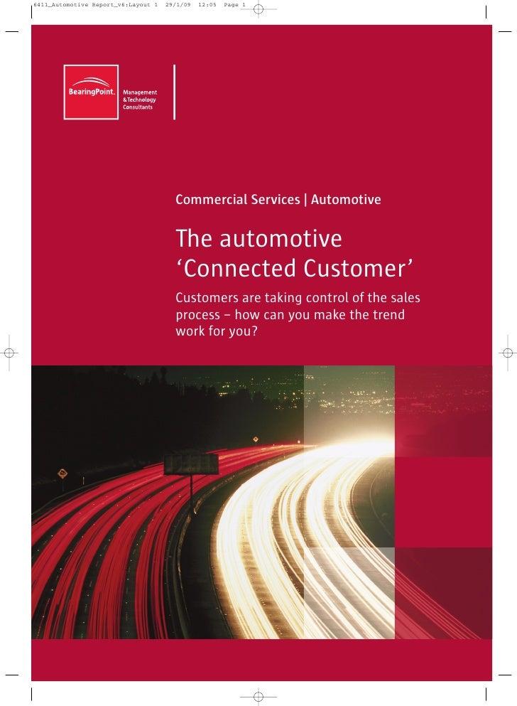 Connected Customer Automotive - Bearing Pot