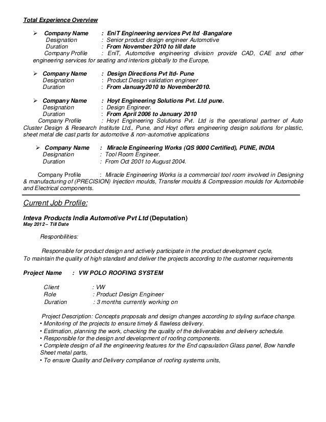 Automotive resume objective