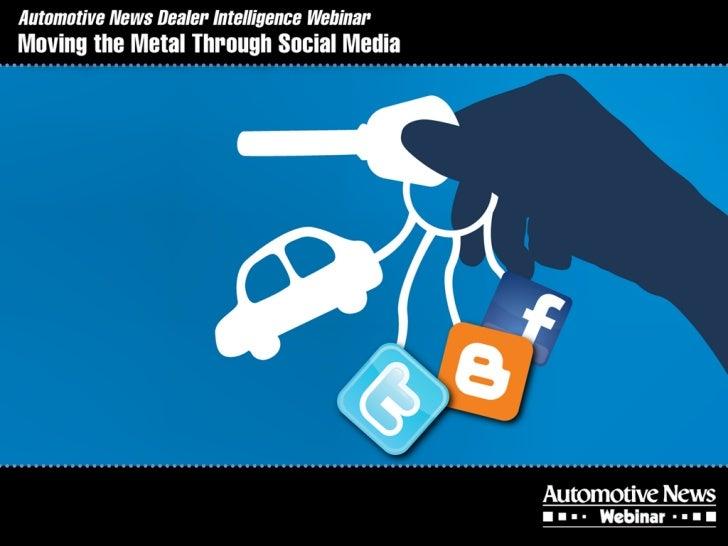 Automotive social media marketing webinar