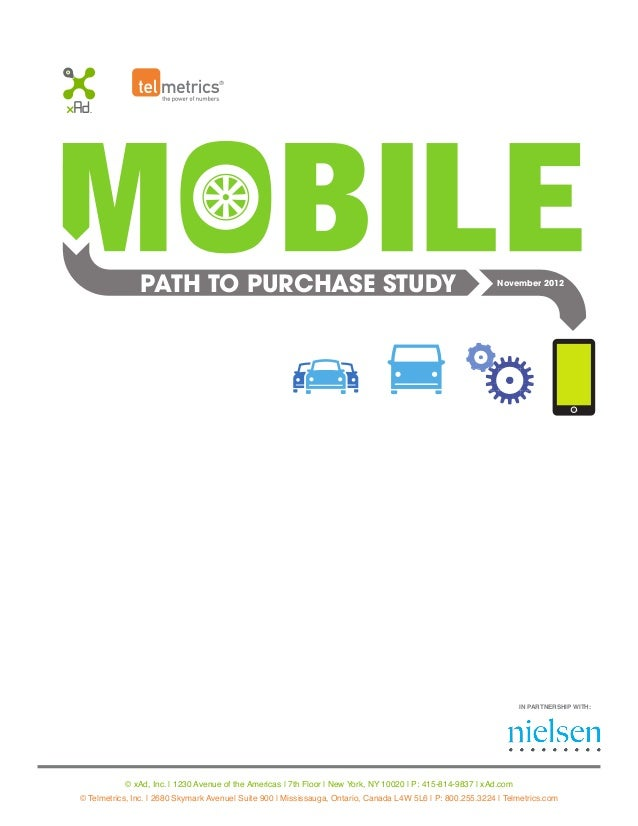 PATH TO PURCHASE STUDY 73% SMARTPHONES USED MORE TO FIND AND CONTACT BUSINESSES TABLETS USED MORE FOR RESEARCH – PRICE COM...