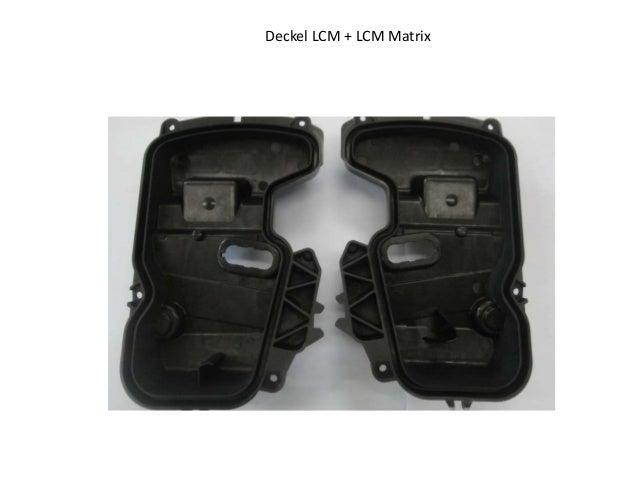 Deckel LCM + LCM Matrix