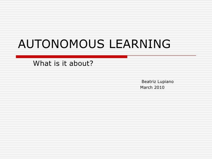 autonomous learning Aadc - advanced autonomous drive conference  then the talk with discuss the role of artificial intelligence/deep learning to enable this technology.