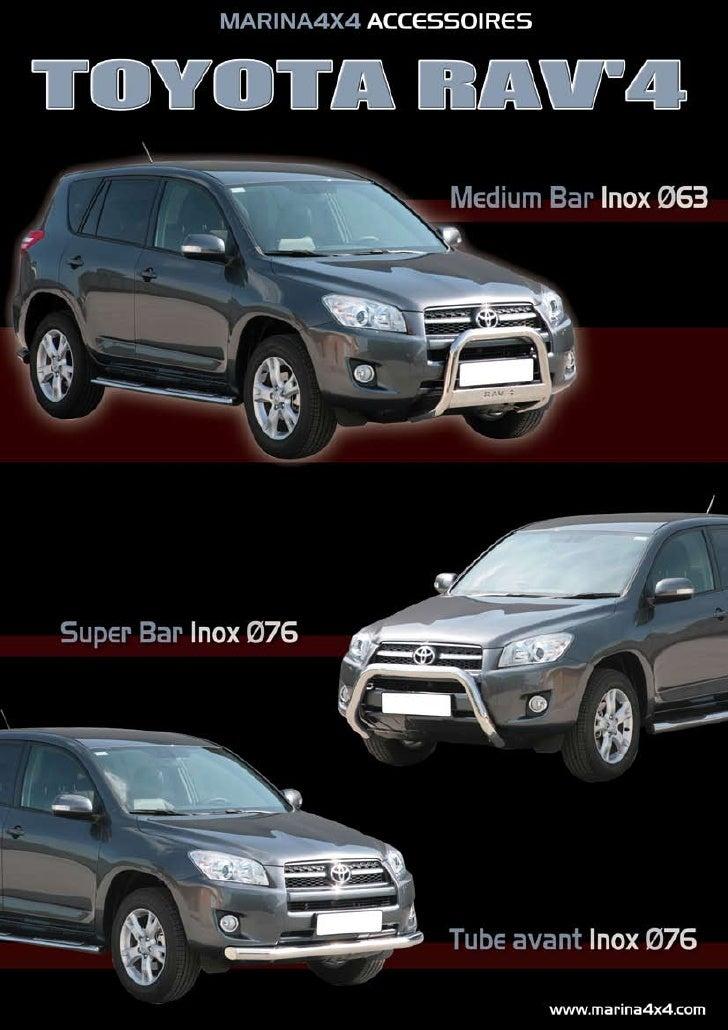 Autoprestige 4x4 Nouveaute Pour Votre Toyota Rav4 2009