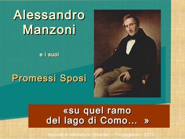 Alessandro Manzoni, vita e opere