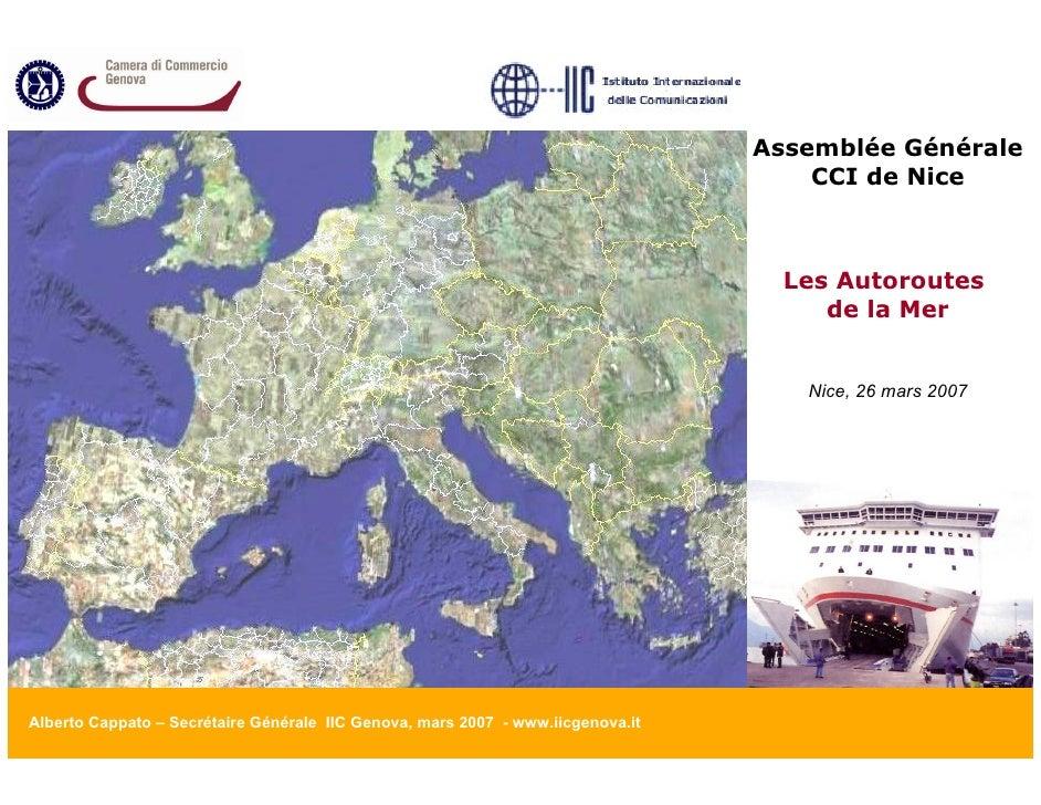 Assemblée Générale                                                                                      CCI de Nice       ...