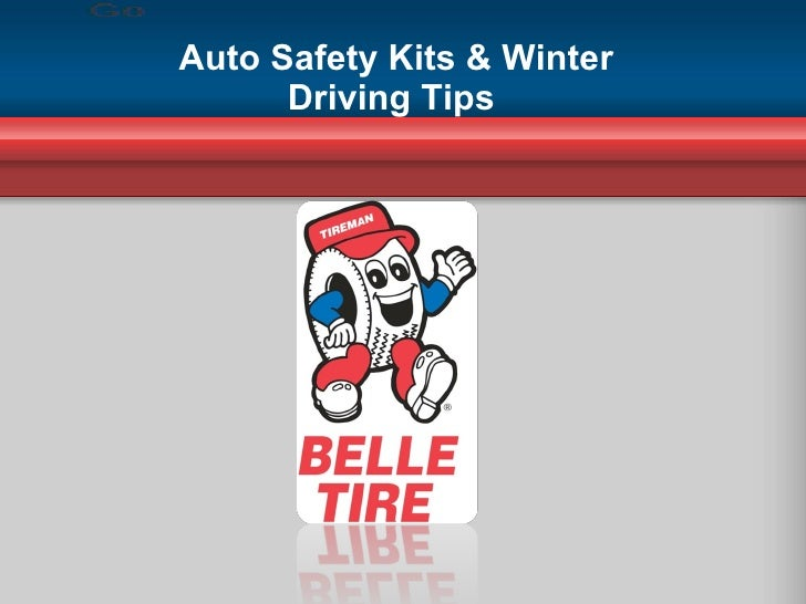 Auto Safety Kits & Winter Driving Tips