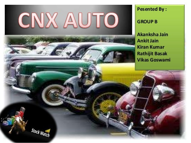 CNX Auto Index weekly report 22 08-2013