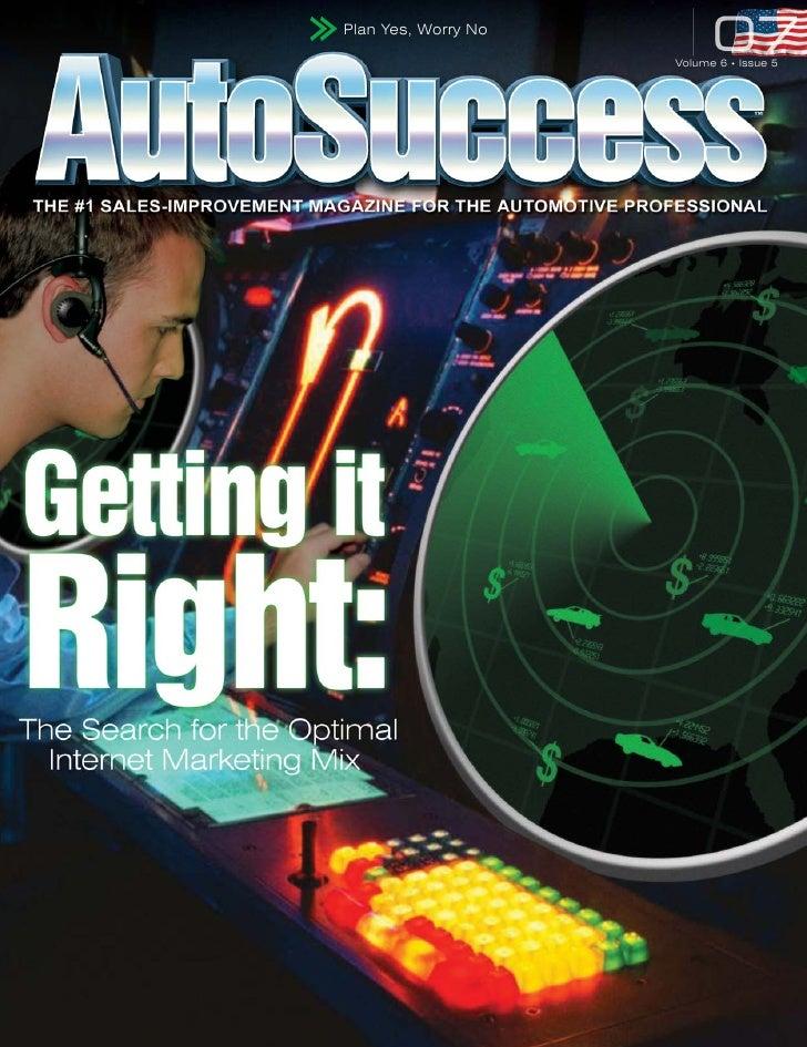 AutoSuccess Magazine; Ralph Paglia on Microsites - Page 24