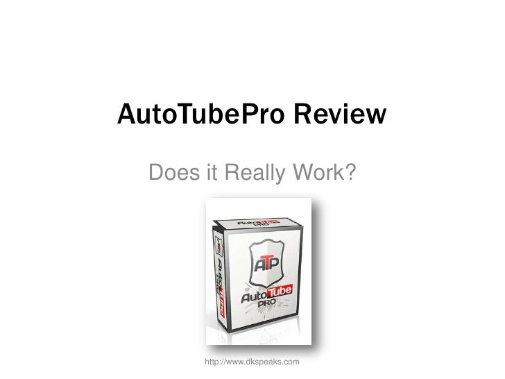 Autotube pro review - All About Auto Tube Pro Explained