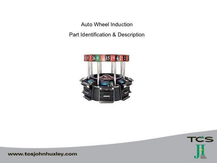 Auto Wheel Induction  Part Identification & Description