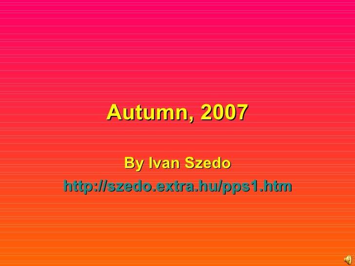 Autumn2007