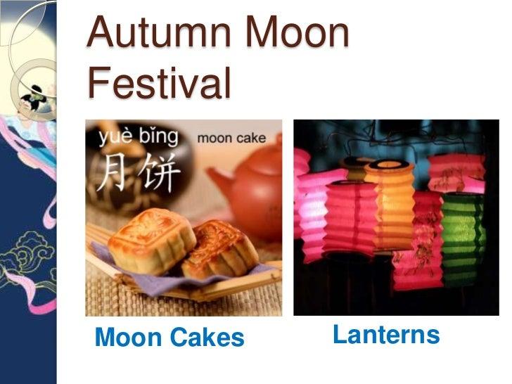 Autumn MoonFestivalMoon Cakes   Lanterns