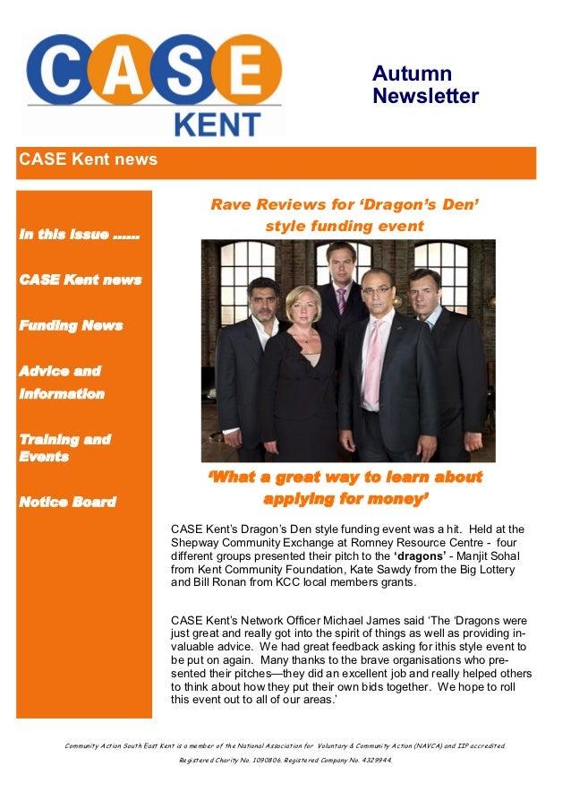 Autumn                                                                                                   NewsletterCASE Ke...