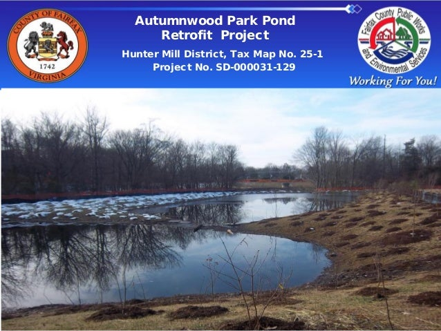 Autumnwood Park Pond Retrofit Project