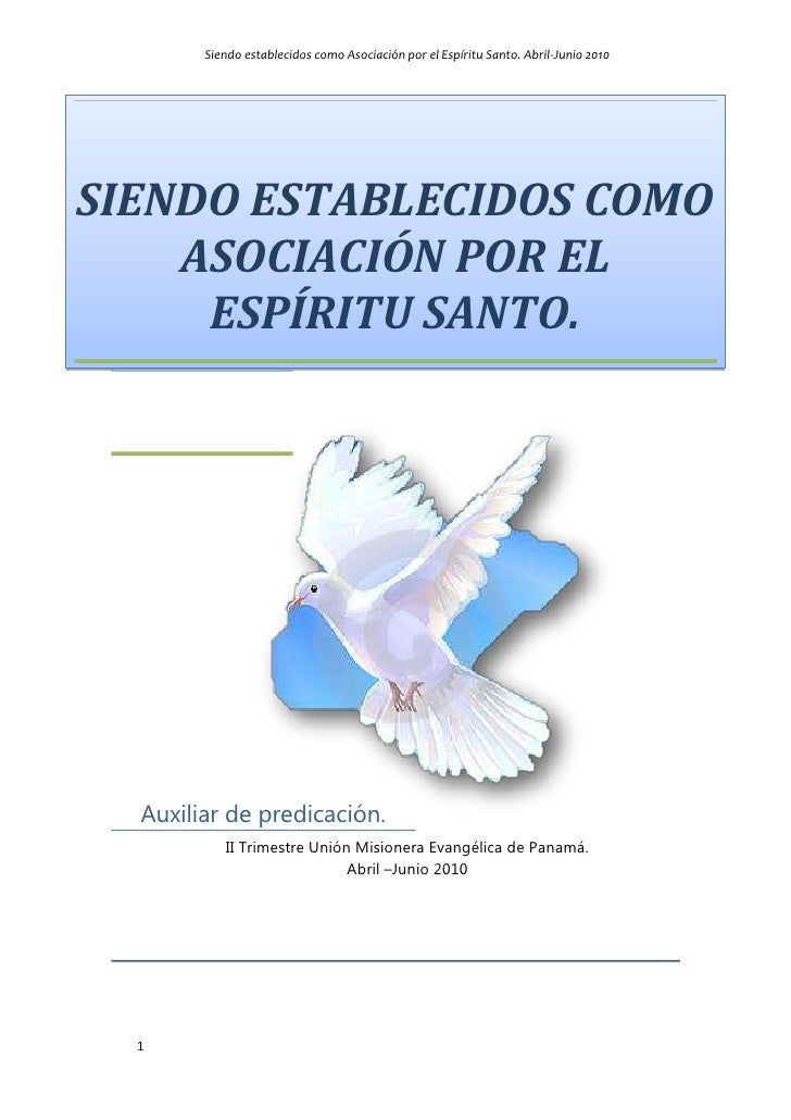 10344152846705<br />centertopSiendo establecidos como asociación por el Espíritu Santo.00Siendo establecidos como asociaci...