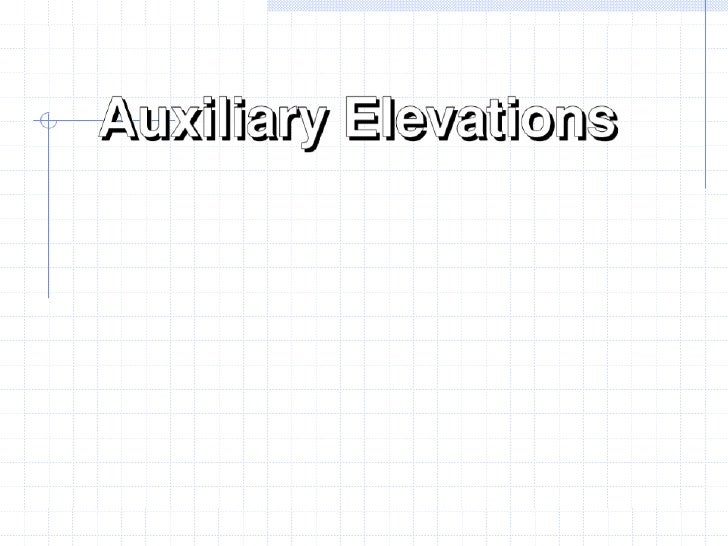 Auxiliary Elevation Prompted