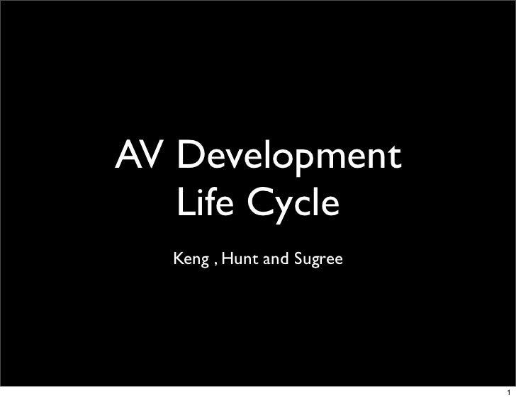 AV Development Life Cycle
