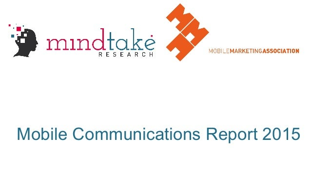 Mobile Communications Report 2015
