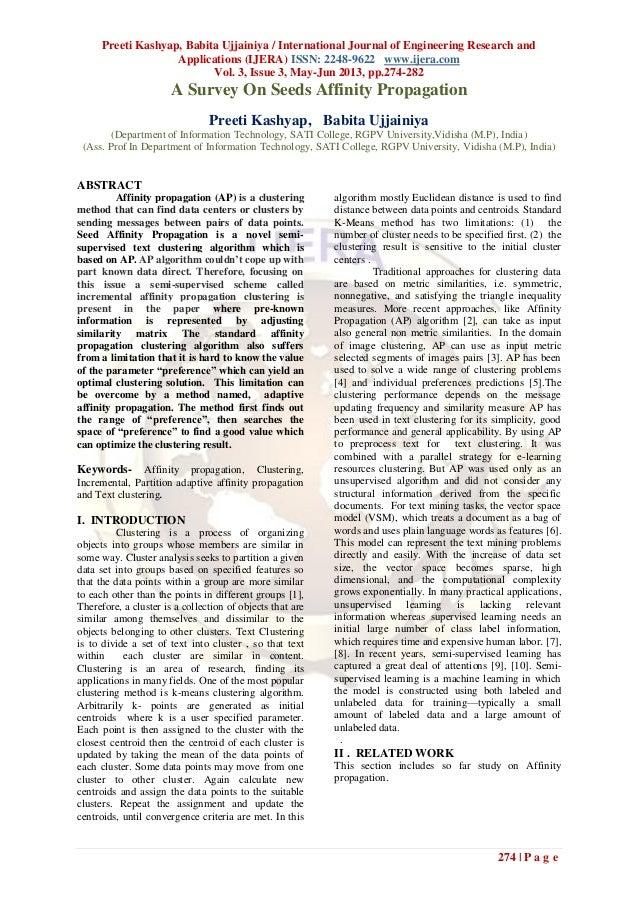 Preeti Kashyap, Babita Ujjainiya / International Journal of Engineering Research andApplications (IJERA) ISSN: 2248-9622 w...