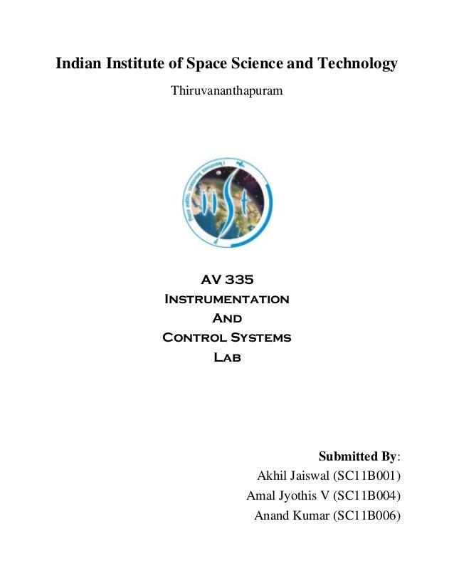 Av335 instrumentation lab report