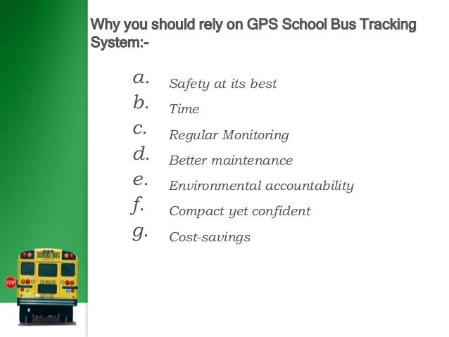 Bus Tracking System Using Gps on Gps School Bus Tracking