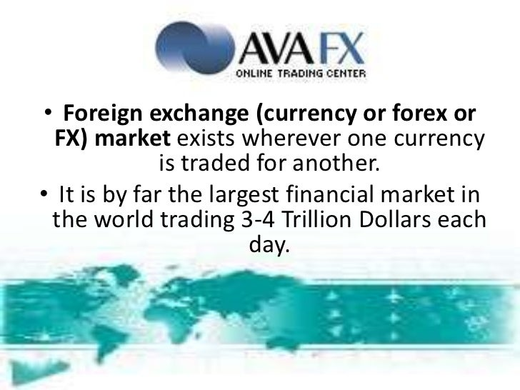 Forex terminology explained