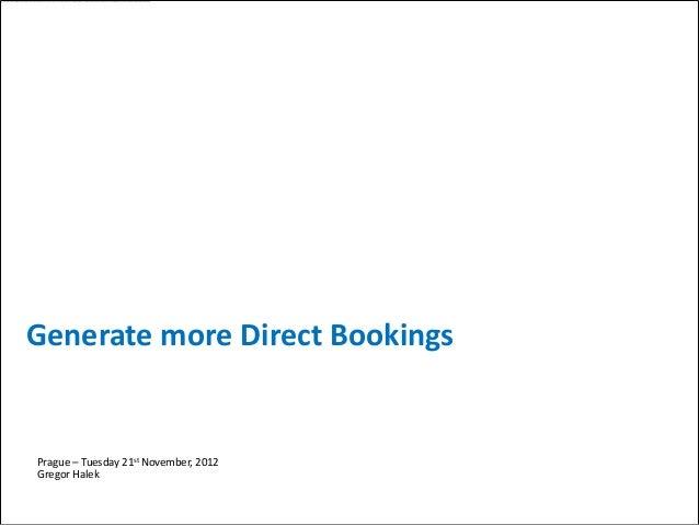 Availpro  - Ještě více přímých rezervací