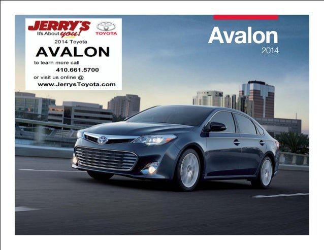 2014 Toyota Avalon in Baltimore, Maryland