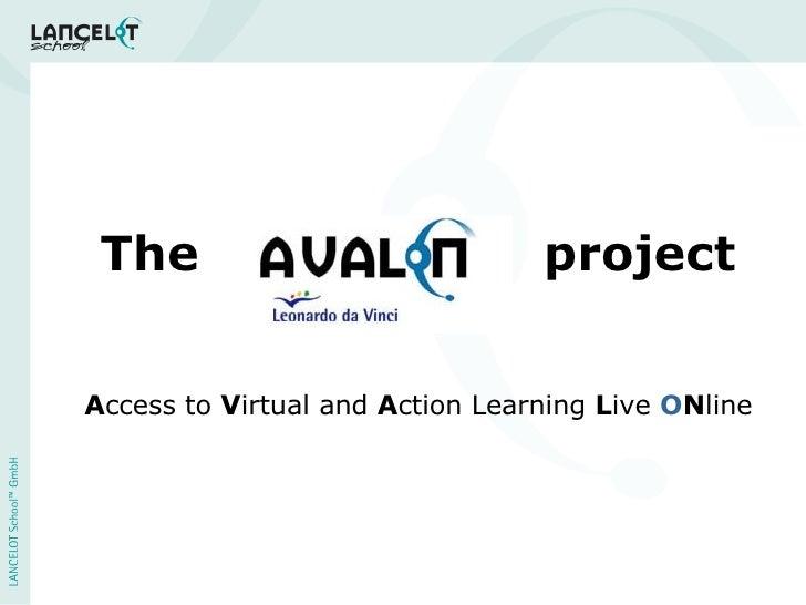 The AVALON project (Ignite presentation)