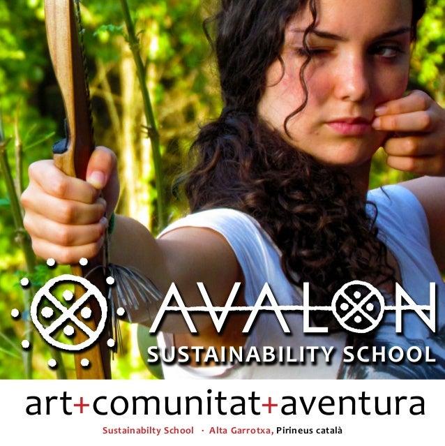 Avalon Sustainability School - Dossier Campamentos 2013
