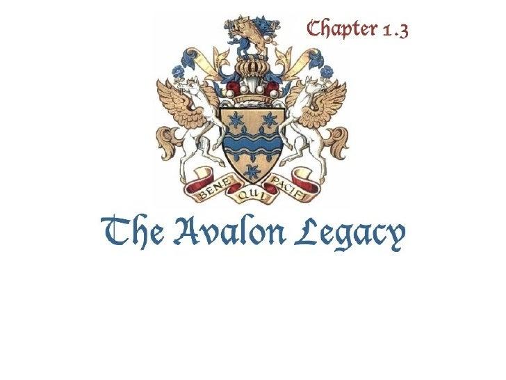 The Avalon Legacy 1.3