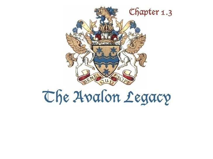 The Avalon Legacy 1.3