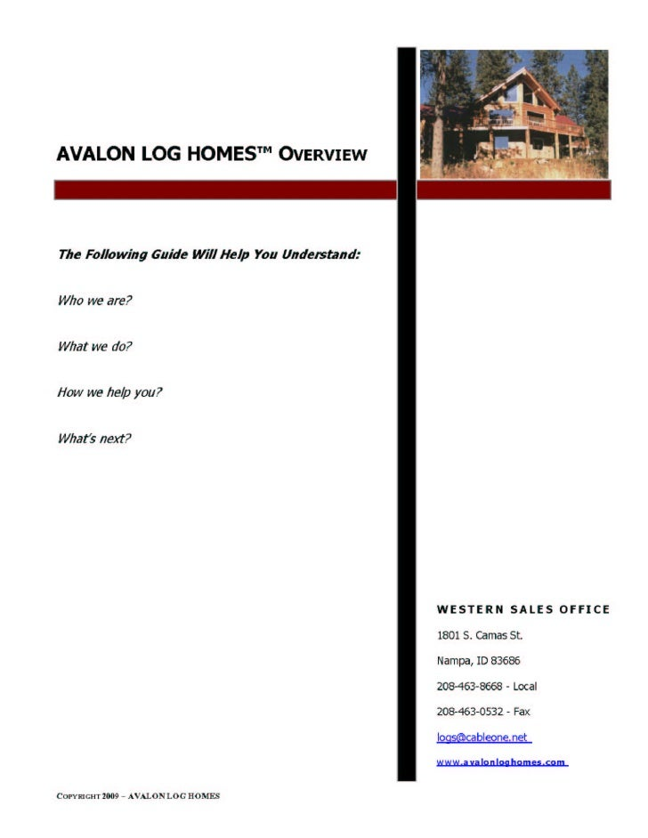 Avalon Overview Pgs 1 8
