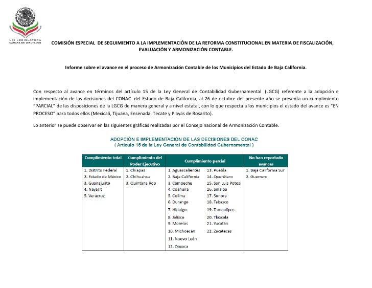 COMISIÓN ESPECIAL DE SEGUIMIENTO A LA IMPLEMENTACIÓN DE LA REFORMA CONSTITUCIONAL EN MATERIA DE FISCALIZACIÓN,            ...
