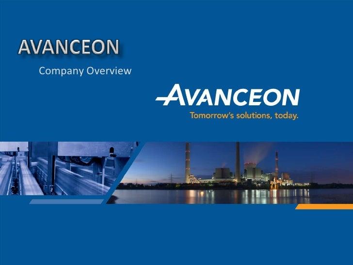 Avanceon Company Summary 2008