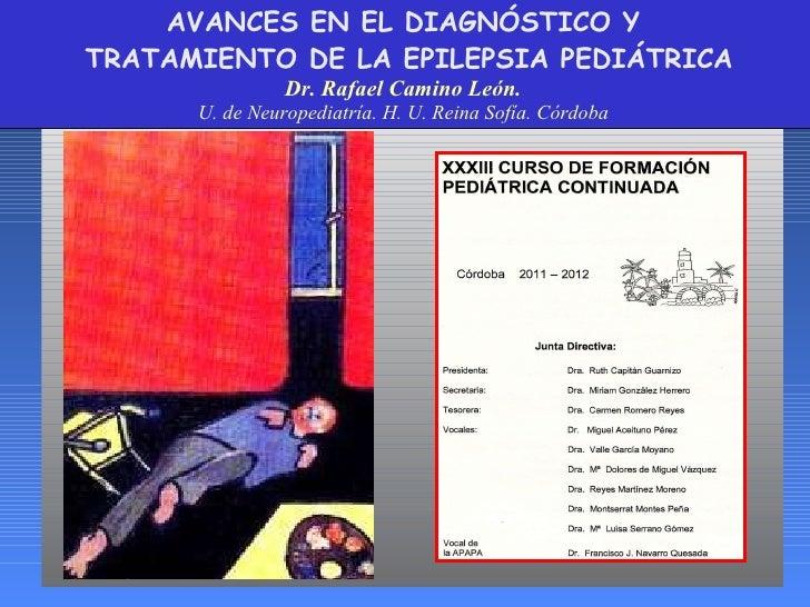Avances en epilepsia Rafael Camino