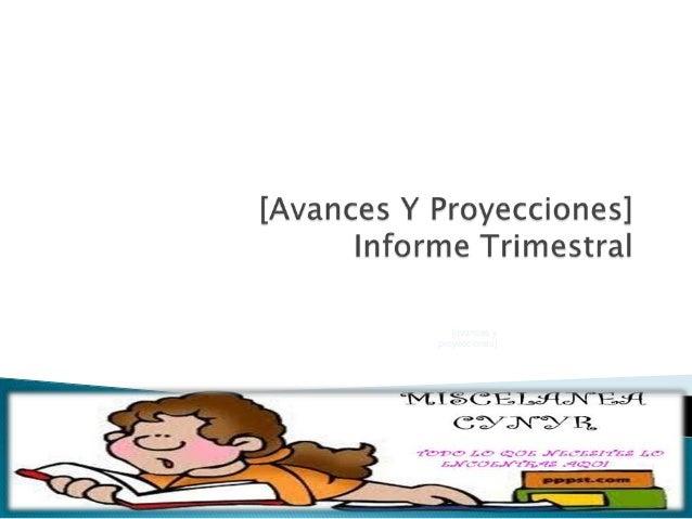 [avances yproyecciones]                12/14/2012   1