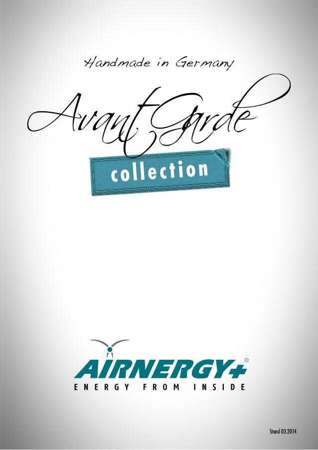 Airnergy Designvarianten Avant Garde