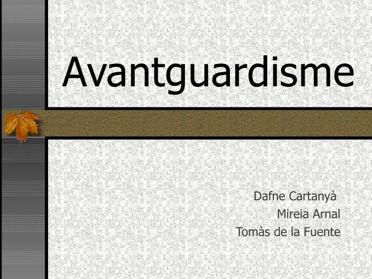 Avantguardisme