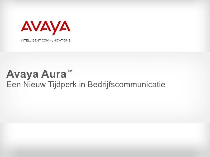 Avaya Aura 21062009