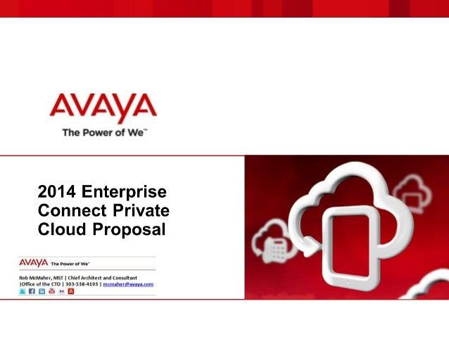 Avaya Cloud Wins Mock RFP: Enterprise Connect 2014