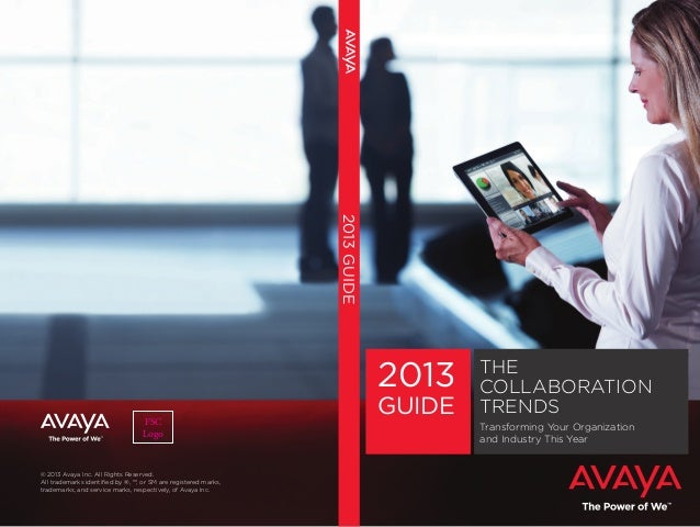 Avaya Collaboration Guide 2013