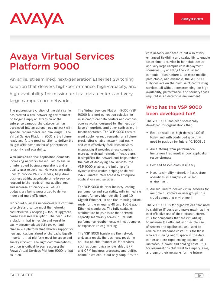 avaya.comAvaya Virtual Services                                                                                           ...