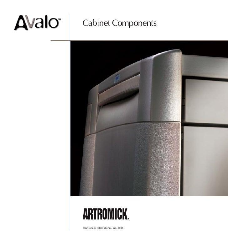 Artromick Av Cabinet Parts for Hospital Computing Solutions