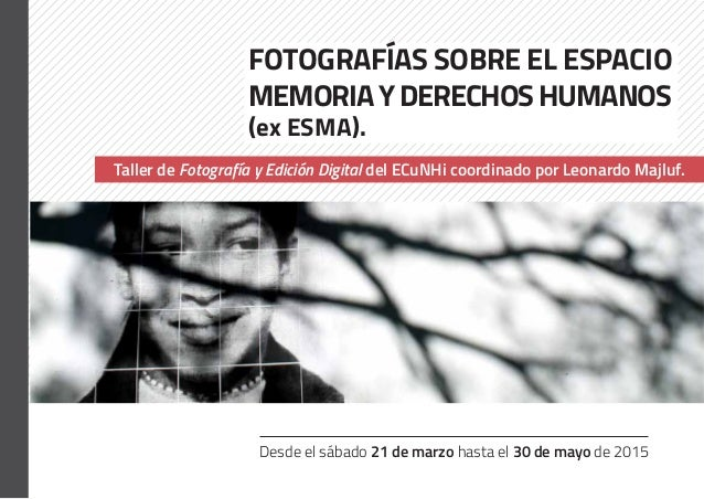 Desde el sábado 21 de marzo hasta el 30 de mayo de 2015 Muestra de dibujos de Jorge López Fotografías sobre el ESPACIO MEM...