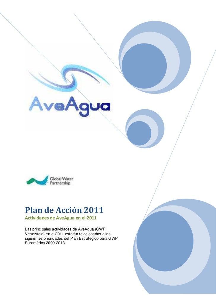 Plan de Trabajo de AveAgua (2011)