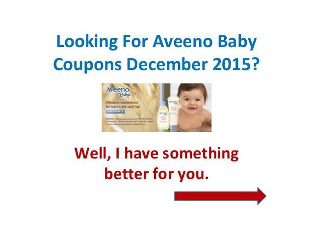 Aveeno baby coupons walmart